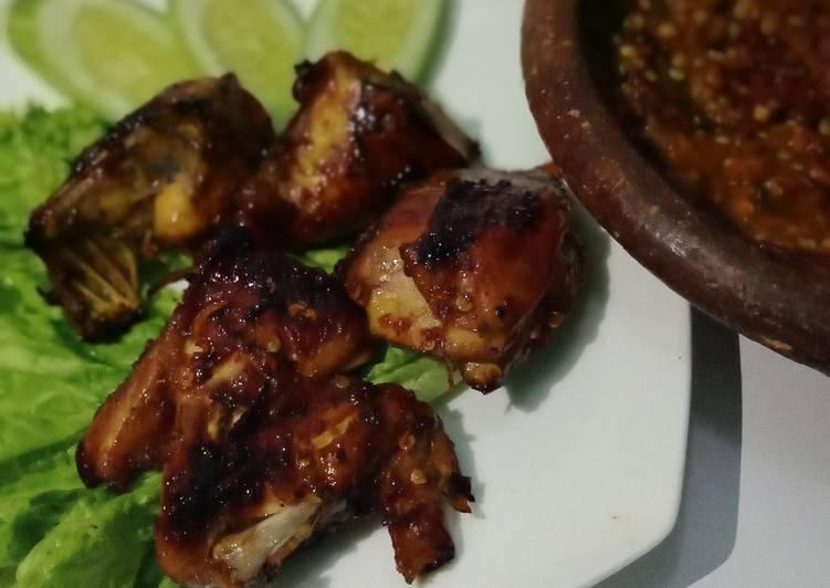 Resep (05)Ayam panggang bumbu simple