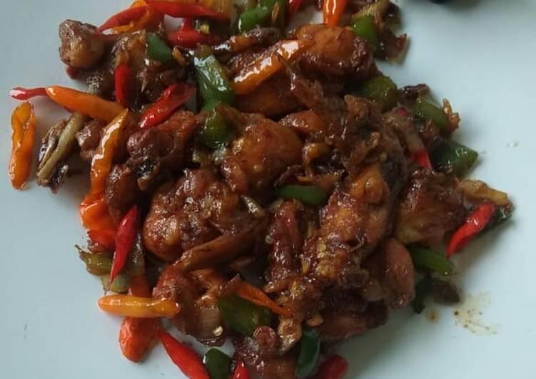 Resep Ayam Rica Ricaca Pedas
