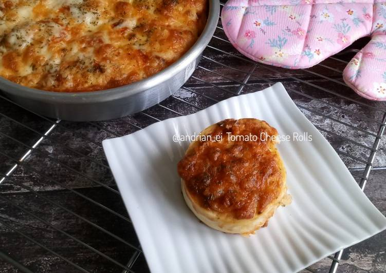 Resep Tomato Cheese Rolls (Pizza Rolls)
