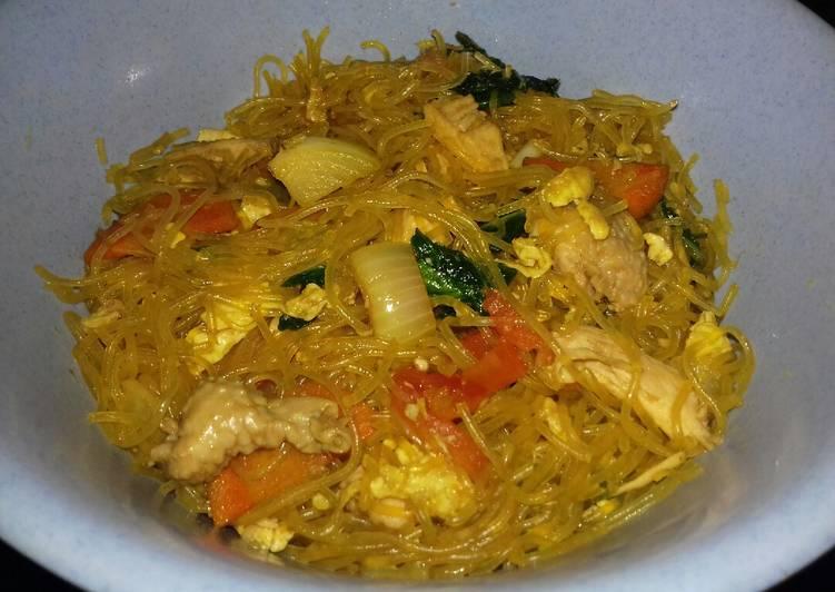 Resep Bihun Goreng Ayam