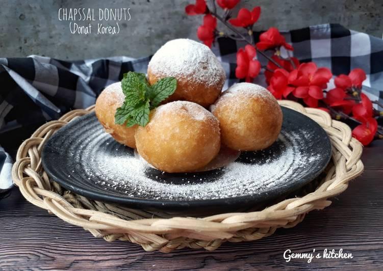 Resep Chapssal Donuts (Donat Korea)