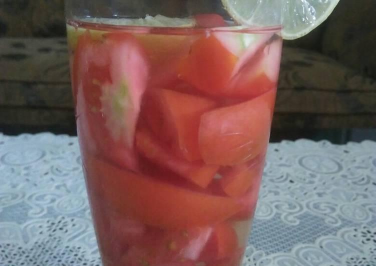 Resep Wedang tomat