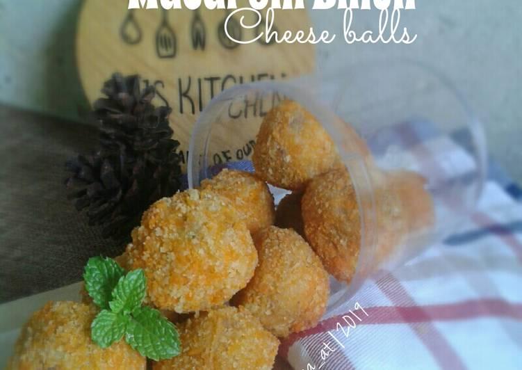 Resep Macaroni Bihun Cheese Balls
