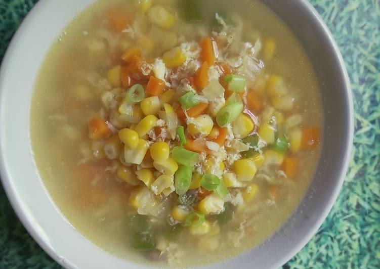 Resep Sop jagung