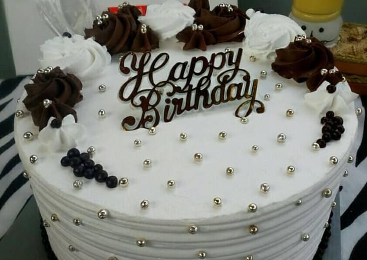 Resep Black forest cake (base chocolate chiffon)