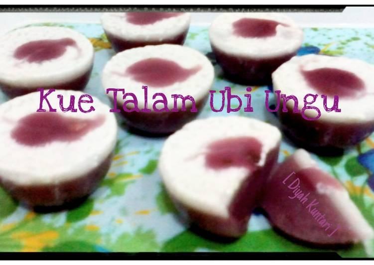 Resep Kue Talam Ubi Ungu