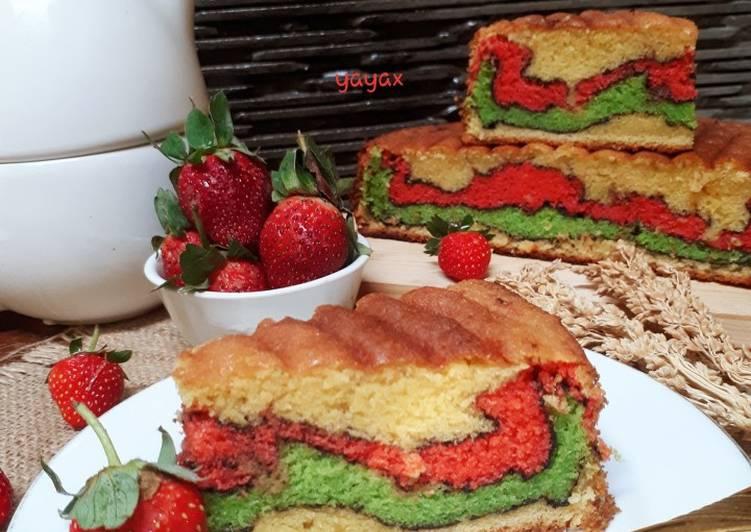 Resep Topo love cake