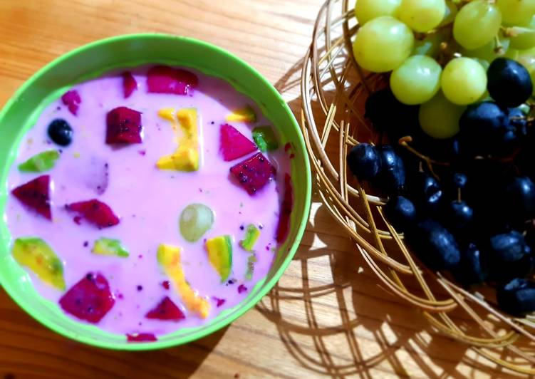 Resep Fruity Yoghurt