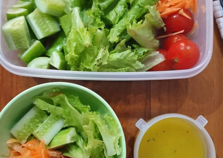 Resep Salad Sayur Seger