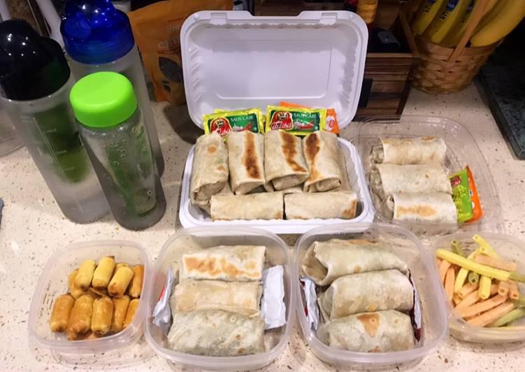 Resep Burritos Bekal Anak