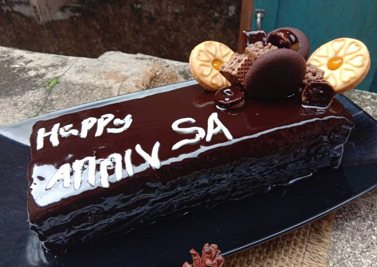 Resep Coklat ganache