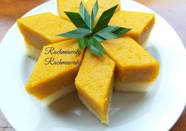 Resep 3.Kue Talam Ketan Labu Kuning by Rachmawaty