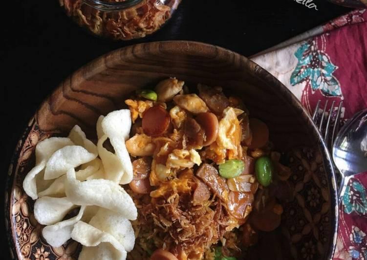Resep Nasi Goreng Gila ala Cooking with Sheila (#pr_homemadestreetfood)