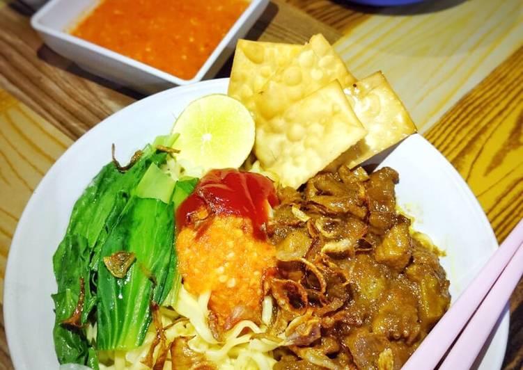 Resep Mie Ayam (simple)