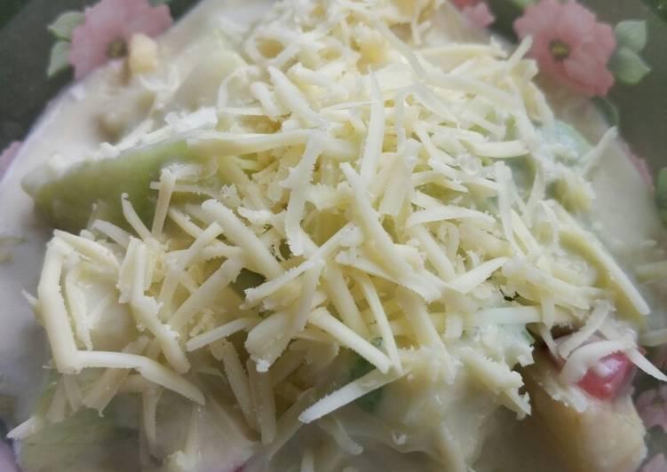 Resep Salad buah creamy