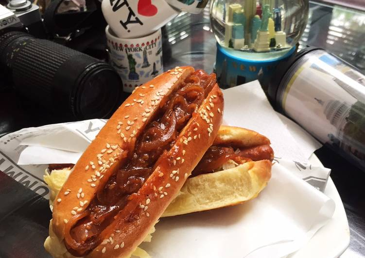 Resep Papayas - NY Hotdogs