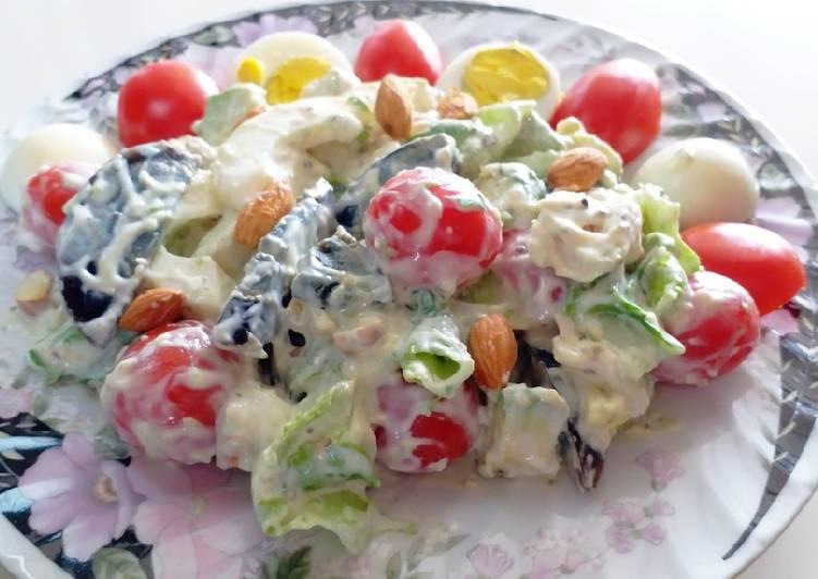 Resep Low Carb Healthy Salad #SaladAction