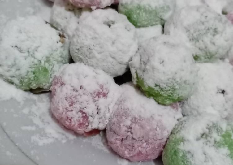 Resep Mochi Choco chruncy Nut