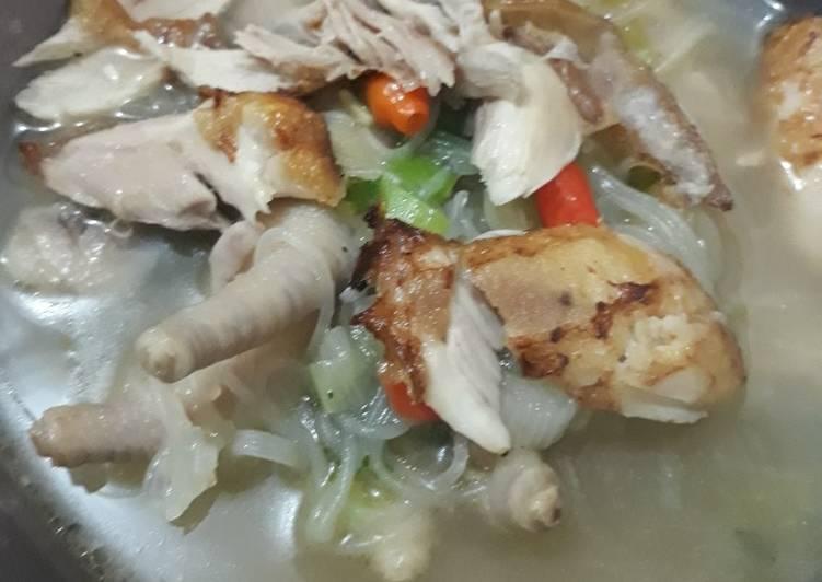 Resep Mie Sop Ayam Ceker