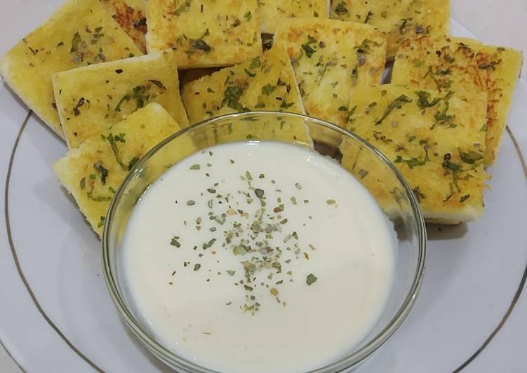 Resep Garlic Bread Saus Keju