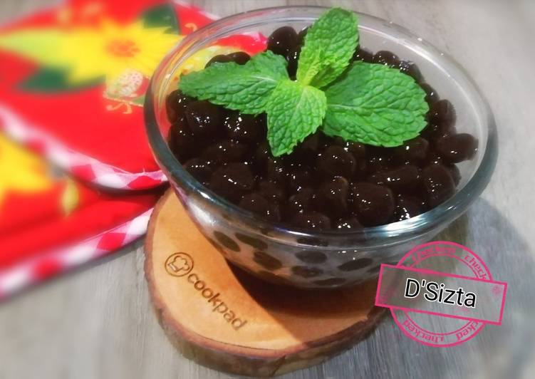 Resep Bubble Pearl (Boba)