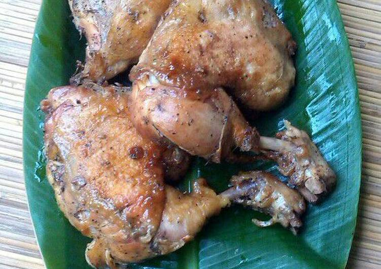 Resep Ayam panggang lada hitam
