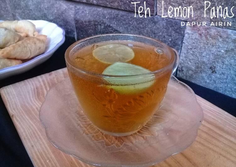 Resep Teh Lemon Panas