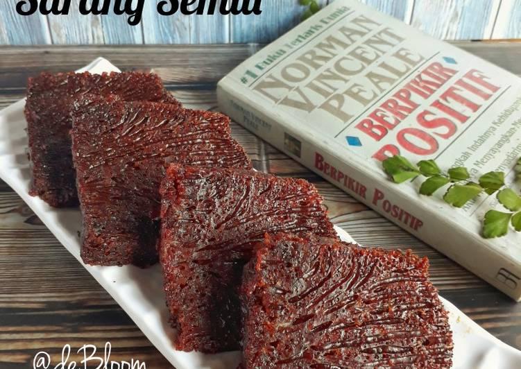 Resep 6Cake Sarang Semut aka Cake Karamel