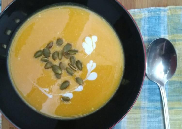 Resep Butternut Cream Soup