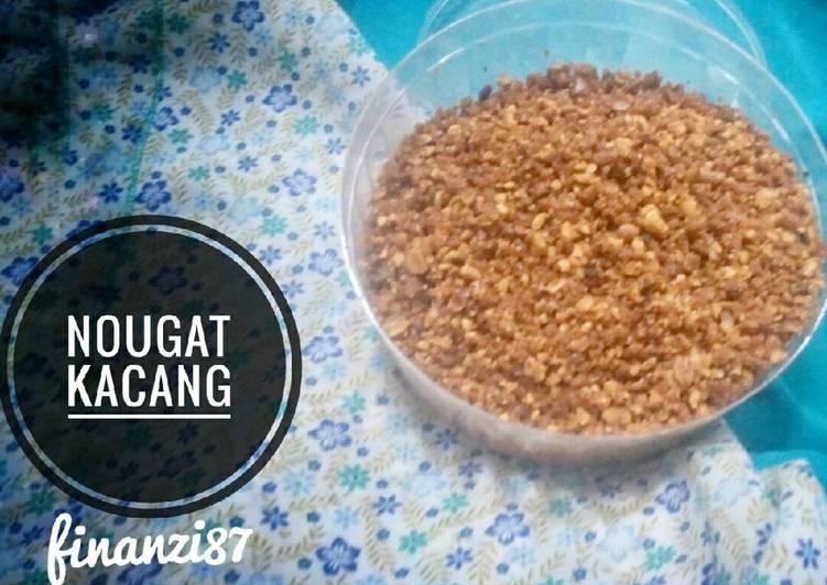 Resep Nougat Kacang