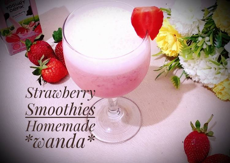 Resep Strawberry Smoothie