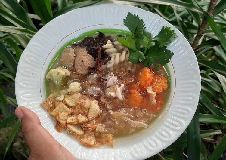 Resep Sup resepsi manten asli Solo
