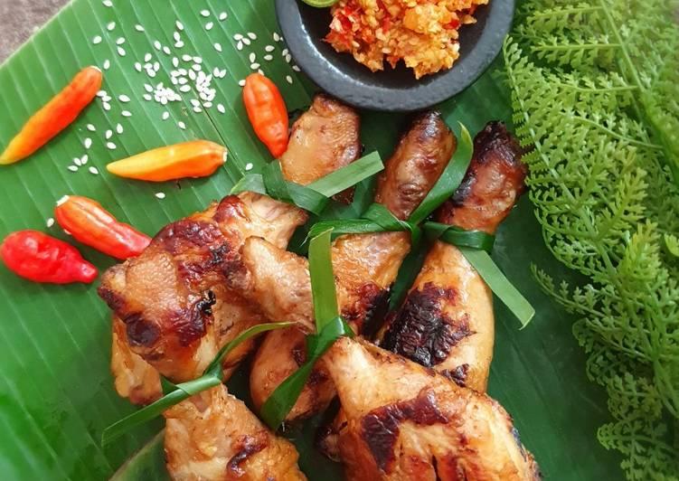 Resep Ayam Panggang Madu Sambal Wijen