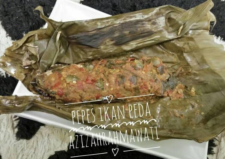 Resep Pepes ikan Peda merah