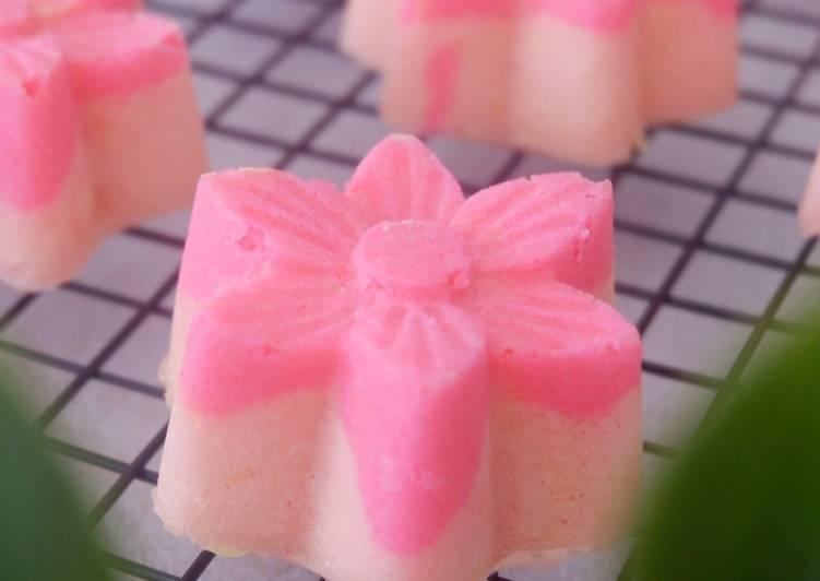 Resep Bolu susu UHT (strawberry)