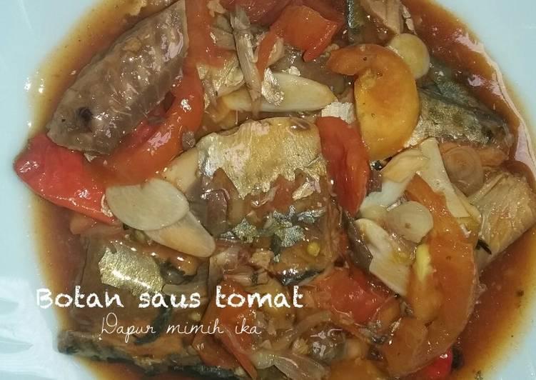 Resep Botan saus tomat..