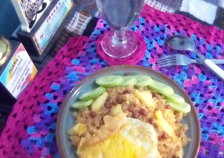 Resep Nasi goreng nanas,,,,