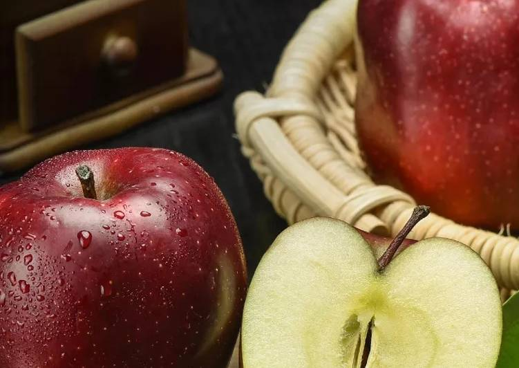 Resep Tips makan buah apel yang sehat