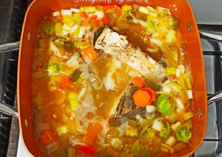 Resep Soup Ikan Gurame Bening