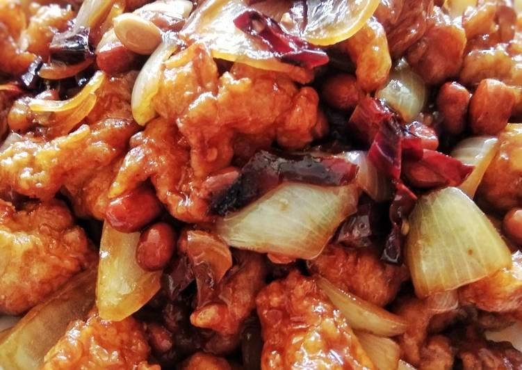 Resep Ayam Kungpau