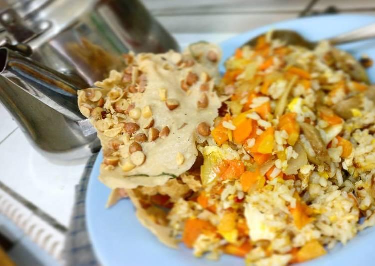 Resep Nasi goreng orange keju dadu