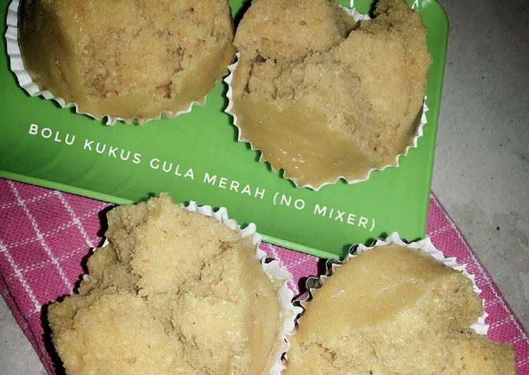 Resep Bolu Kukus Gula Merah (no mixer)