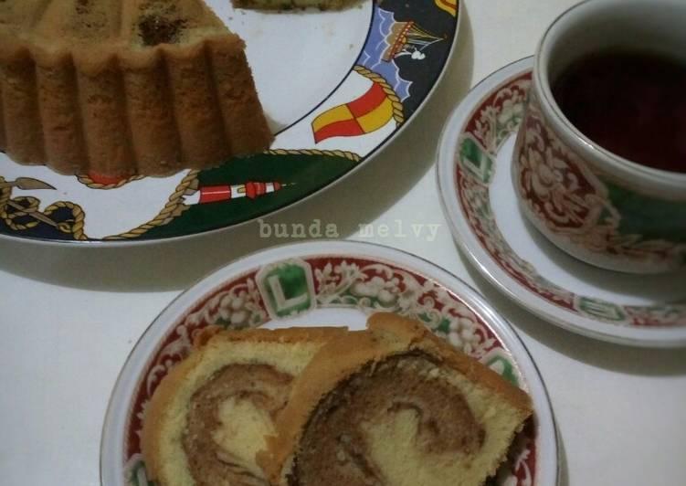 Resep Marmer Cake Jadul Pak Sahak