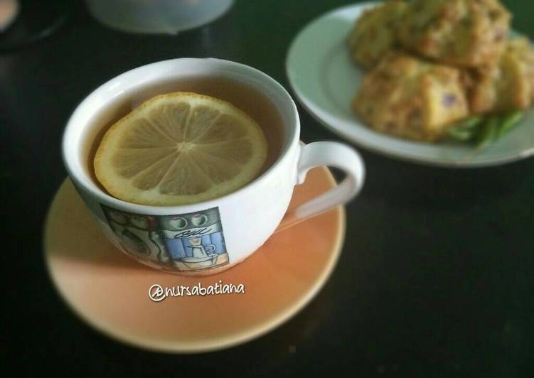 Resep Teh jeruk nipis