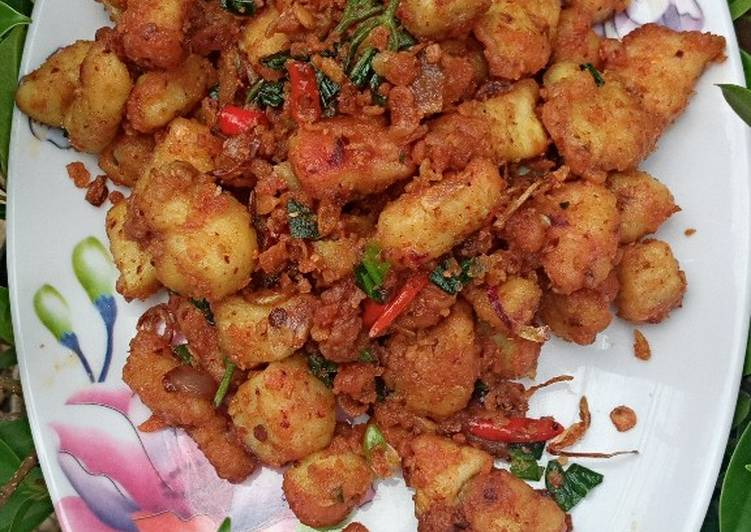 Resep Ayam Popcron Goreng Bawang