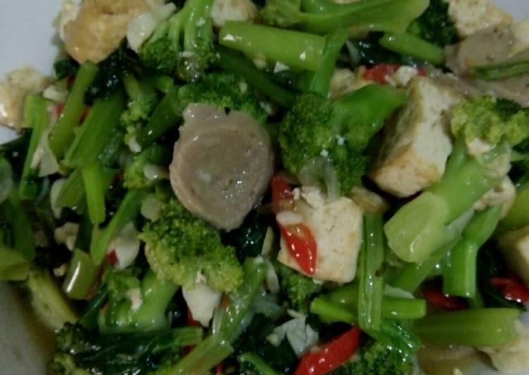 Resep Oseng brocoli&sawi hijau