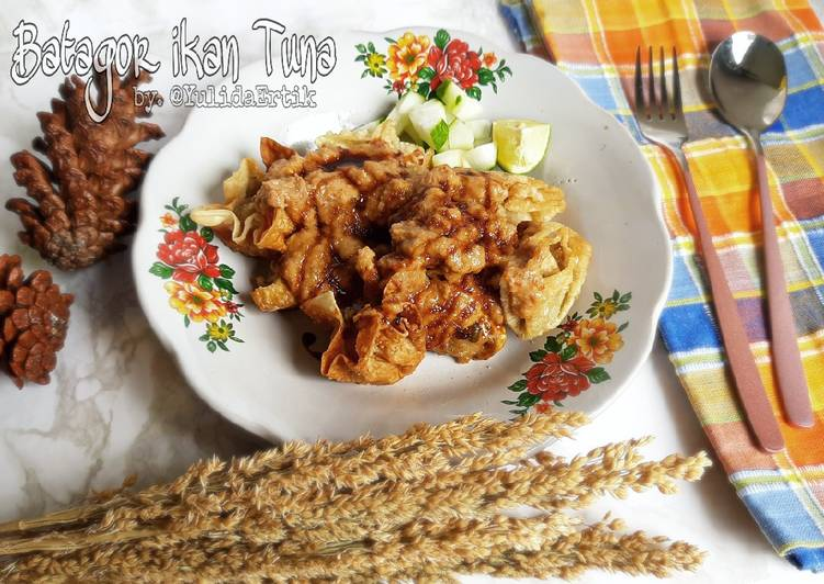 Resep Batagor ikan tuna
