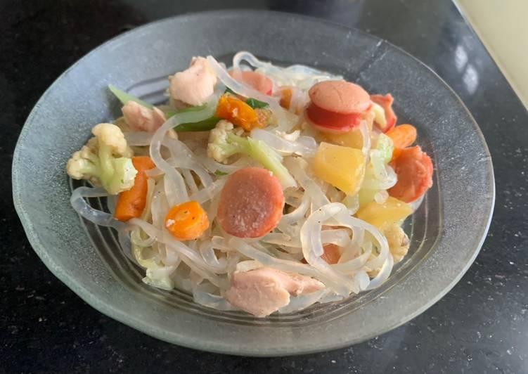 Resep Mie shirataki untuk diet