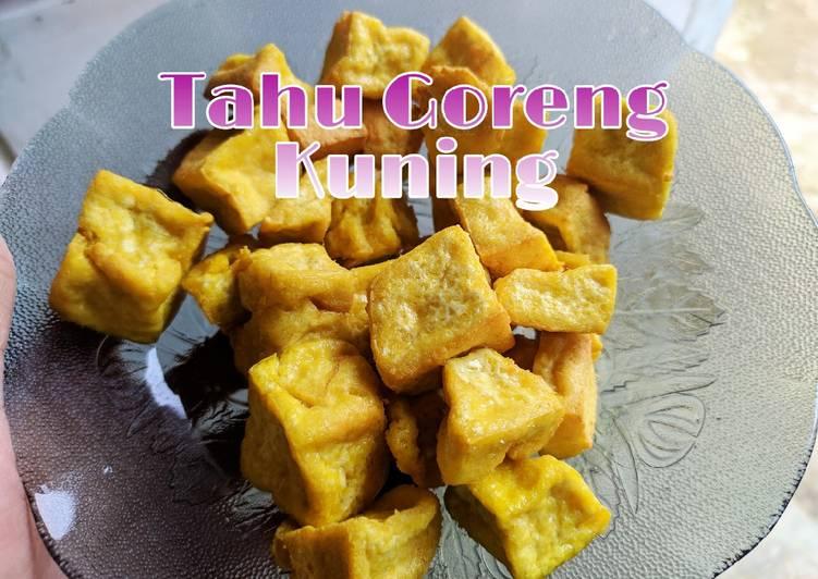 Resep Tahu Goreng Kuning