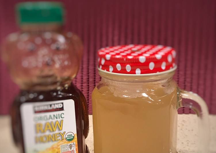 Resep Minuman Herbal (Air Sereh)